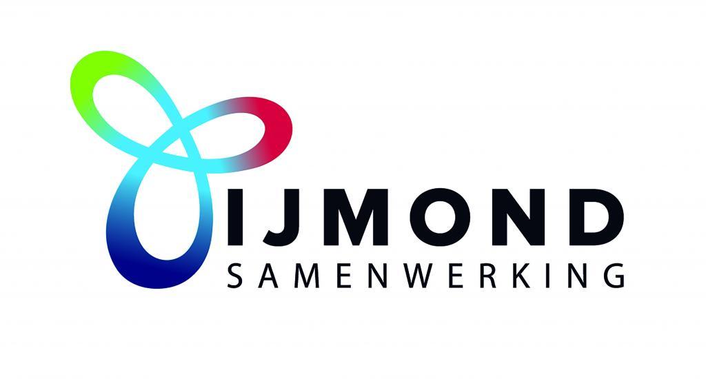Het logo van de IJmond Samenwerking